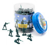 NEW Official Disney Toy Story Green Army Men Bucket O' Soldiers - 90 piece set