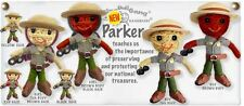Kamibashi Parker Boy & Girl Park Ranger Original String Doll Gang Keychain Set