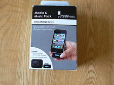 Media & MUSIC Pack compatibile con la maggior parte iPhone e iPod