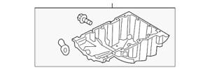 Genuine Ford Oil Pan HL3Z-6675-A