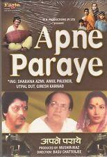Apne Paraye - Amol Palekar , Shabana Azmi   [Dvd]  1st Edition