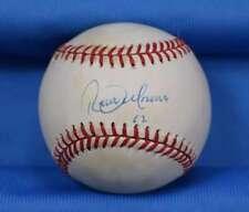 Roberto Alomar Upper Deck Coa Signed American League Oal Baseball Autographed