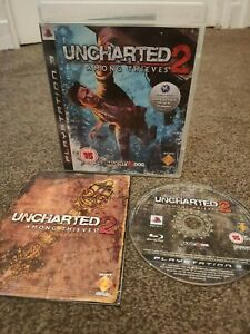Uncharted 2 Among Thieves PS3 PlayStation 3 Complete Very Good Condition