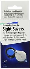 Bausch & Lomb 10X Hastings Triplet Magnifier 81-61-71 Jeweler Loupe 816171