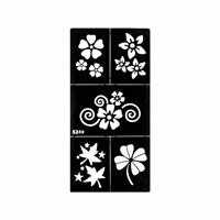 Stencils for Henna Tattoos Self-Adhesive Beautiful Body Art Temporary Tattoo