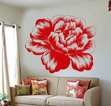 Vinyl Wall Decal Bud Rose Flower Garden Nature Girl's Room Decor Stickers 1206ig