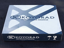 KOYO RACING ALUMINUM RADIATOR FOR 86-92 TOYOTA SUPRA JZA70 R0171
