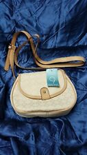 NINE WEST Designer Geometric Brocade Canvas Fashion Shoulder Cross Body Bag