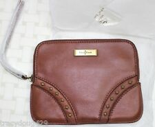 NEW  COLE HAAN DESIGNER WRIST POUCH -WOODBURY LEATHER Britney II Unit Collection