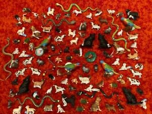 Lot of 100 Animal Figures - Bullyland, CollectA Brand New Plastic Toy Figures