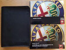 ALFA ROMEO 159 HANDBOOK OWNERS MANUAL WALLET 2005-2011 PACK B-877