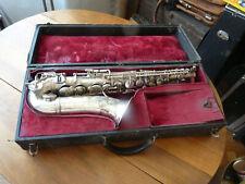 Rare saxophone alto Lyrist en bon état à re tamponner, nice vintage french sax.