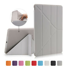 For ipad mini 1/2/3/4 Air 1/2/3 Pro Leather Transformers Cover Smart Case Stand