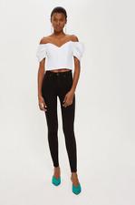 Black High Waist, Jamie Jeans. 8 W26 L32 TOPSHOP/MOTO