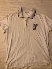 Versace T Shirt Polo White Mens XXL