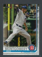 2019 Topps  #502  MIKE MONTGOMERY  CUBS