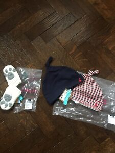 💕JOULES Baby Hand Stitched Paws Mittens 6-12 KOO Hats X 2 6-9 Bundle BNWT💕