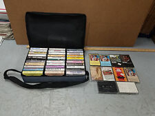 Cassette Tapes & Storage carry case