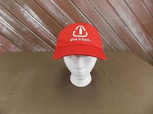 Coca Cola Hat Cap Give it Back Recycle Coca-Cola Trucker Hat Adustable Back NWT