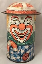 More details for cap tins the tin company designed by daher long island city ny clown made in eng