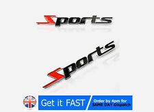 Sports Badge Emblème Chrome Métal Voiture 3D Autocollant pour BMW AUDI FORD TOYOTA