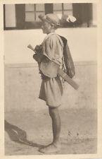 Original  Photo  Native Man Nepal ? Tibet China ? 1920-30