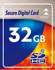 32 Gb SDHC class 10 Highspeed Scheda di memoria per fotocamera Panasonic DMC-TZ 58 CE-T