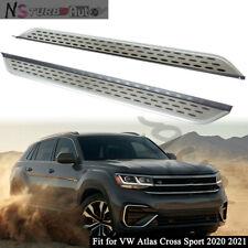 Fits for VW Atlas Cross Sport 2020 2021 Side Step Nerf Bars Running Boards