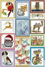 Maydear Stamped Cross Stitch Kits Full Range of Embroidery Kits for Beginner DIY