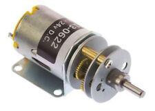 RS Pro, 12 V, 12 → 24 V dc, 1000 gcm, Brushed DC Geared Motor, Output Speed 66