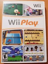 Wii Play (Nintendo Wii, 2007) Complete TESTED