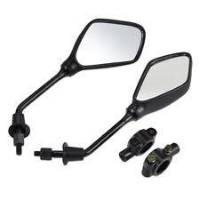 "1Pair Handlebar Rearview Mirror Set for Kawasaki KLR250 KM100 KS125 MC1 7/8"" Bar"