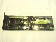 Vintage Imperial Pocket Knife With Interchangeable Blades Set White Pearl