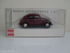 Volkswagen Kafer 1951 Red Busch BU 42710