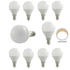 10x LED Glühbirnen Tropfen 3W E14 Glühlampen Glühlampe Kugel Warmweiß K03