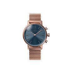 Relojes de pulsera Blue de acero inoxidable