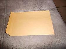 40 Versandtaschen/Briefumschläge C4/A4 braun ohne Fenster 229 mm x324mm
