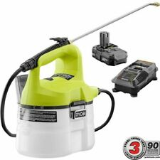 Ryobi Cordless Chemical Sprayer 18V Li-Ion 1.3 Ah Adjustable Nozzle 1 Gal Mister