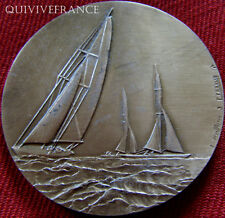 MED3208 - MEDAILLE YATCHING LEGER CHAMPIONNATS DE FRANCE 1971 - FRENCH MEDAL