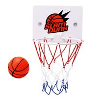 Children'S Outdoor Indoor Wall-Mounted Basketball Hoop Game Toys Slam Dunk  A8E5