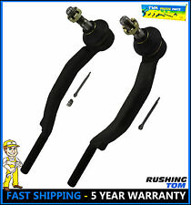 Chevy Trailblazer GMC Envoy 16MM THREAD (2) PC Front Outer Tie Rod Ends