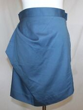 Vivienne Westwood Anglomania Skirt 42 Slate Blue Angles Cotton Mini