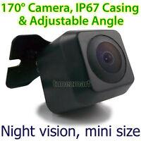 Waterproof Wide Night Vision Car Reverse Camera Rear View Parking Sensor Small