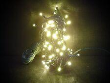 100 ER LED catena albero di Natale illuminazione esterno bianco caldo 20 METRI