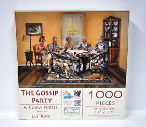 The Gossip Party Jigsaw Puzzle 1000 Piece