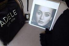 ADELE Exclusive VIP 2016 Tour Merchandise Set BLANKET TOTE BAG PHOTO LAMINATE