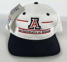 University of Arizona Split Bar Snapback Baseball Hat The Game Deadstock Vintage