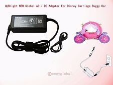 24V AC/DC Adapter For Disney Carriage Buggy Car w Led status light Power Charger