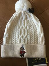 Polo Ralph Lauren special edition polo bear hat NWT Sz 4-6X girls fits up to 8