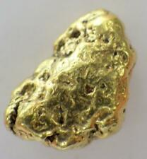 GOLD NUGGET Alaskan  Natural Placer 1.507 GRAMS Napoleon Creek High Purity 92%